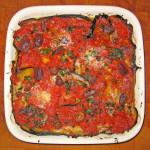 Włoskie potrawy i krajowe mięso sezonowane